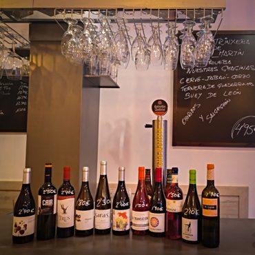 wide range of wines from Castilla y Leon Valladolid Spain
